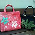 M村さんとK堂さんのバッグ